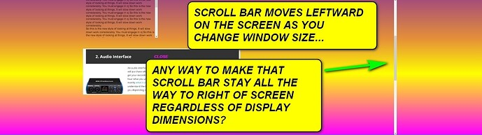SAOLA SCROLL BARS-WITH CAPTION